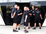 Lotus freight arrives late to Suzuka