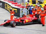 Leclerc insists F1 qualifying crash not deliberate, worried about gearbox damage