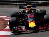 Daniel Ricciardo heads Red Bull 1-2 in Monaco FP2