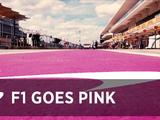 Video: Formula 1 goes pink in Austin for breast cancer