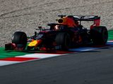 Verstappen upbeat despite gearbox issues on final day