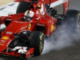Sebastian Vettel struggled to find rhythm