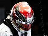 Lewis Hamilton struggling with Mercedes' W10 in China