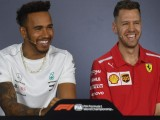 Lewis Hamilton says the media isn't showing Sebastian Vettel enough respect