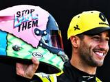 Daniel Ricciardo unveils striking new race helmet