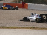 Photos: Nasr and Wolff collide during testing