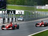 Schumacher's 2002 Austria team-orders Ferrari up for auction
