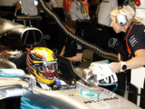 Hamilton stakes his claim with epic pole lap