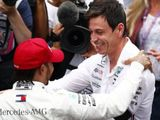 Hamilton also a factor in Wolff's Mercedes future
