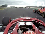 Watch Raikkonen's crazy first lap in Portugal as he makes up TEN places