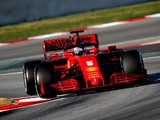 Ferrari says first test engine issue no concern