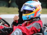 Video: Watch Alonso go from last to first in kart race