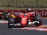 Raikkonen happy with pace, laments red flags in Hungary practice