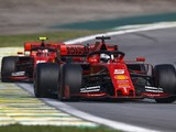 Ferrari drivers called to F1 stewards after Brazilian GP collision