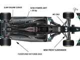 Technical Insight: The key areas of development for Mercedes' W12