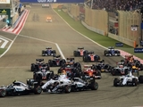 Rosberg cruises to win after dramatic start