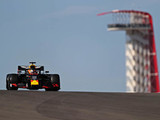 Verstappen sets the pace at a chilly Austin