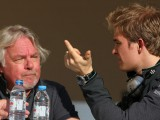Rosberg struggles with advice from father Keke