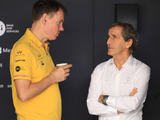 Taffin believes Renault are only behind Ferrari now