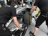 Nico Rosberg quickest as Lewis Hamilton crashes out of FP2