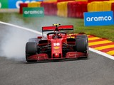 Leclerc surprised to see Ferrari so far off pace in F1 Belgian GP practice