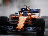 "Fernando Alonso: ""Thanks to the rain we managed to get to P11"""