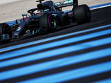 Hamilton and Bottas secure Mercedes front row at France