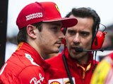 Leclerc disappointed with Ferrari start
