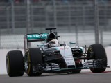 Hamilton eases to win after Rosberg failure