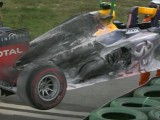 New chassis for Webber following Korean fire