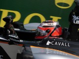 Hulkenberg quickest as diesel spill puts drivers in a spin
