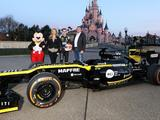 Renault visits Disneyland to start French GP show runs