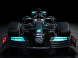 Mercedes reveal the W12, but not all of it
