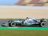 First day 'positive' for Mercedes W10 – Hamilton