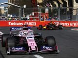 Sergio Perez finishes caps off a great day for SportPesa Racing Point F1 Team with sixth place finish