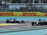 Hamilton: Abu Dhabi one of the worst for overtaking