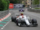 Leclerc satisfied with Sauber pace at Monaco