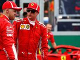 Kimi Raikkonen concerned with Ferrari's gap to Mercedes