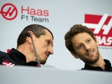 Grosjean encouraged by positive Haas sim test