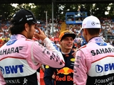 That's fourth for Force India