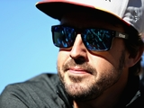 Alonso tops rookie test despite suspension issue