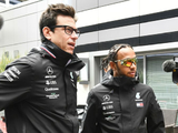 'No doubt that Lewis is our priority' says Wolff