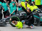 "Hamilton and Schumacher share ""God given talent"" - Brawn"