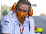"Brown hails ""great year"" for McLaren after securing third"