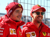 Leclerc pays tribute to departing Vettel