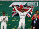 Hamilton beaming after record sixth British GP victory