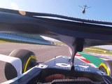 Experience a driver's eye view of the AlphaTauri AT01