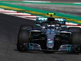 Spanish GP F1 practice: Valtteri Bottas leads Mercedes 1-2 in FP1