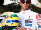 Lewis awed by Senna comparison