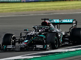 Hamilton wins British GP with three tyres as both Mercedes suffer failures